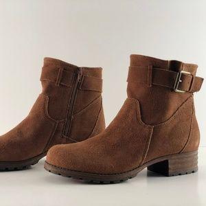 Clarks Women's Brown Suede Boots